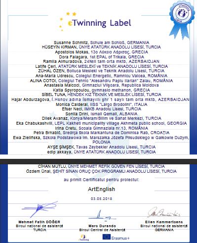 diploma ETwinning _ Ana2