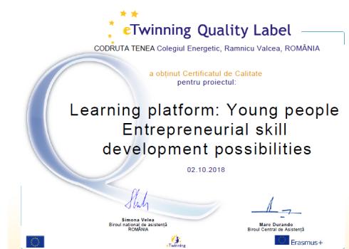 eTwinningQL_Learning platform