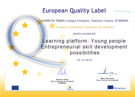 european label learning platform